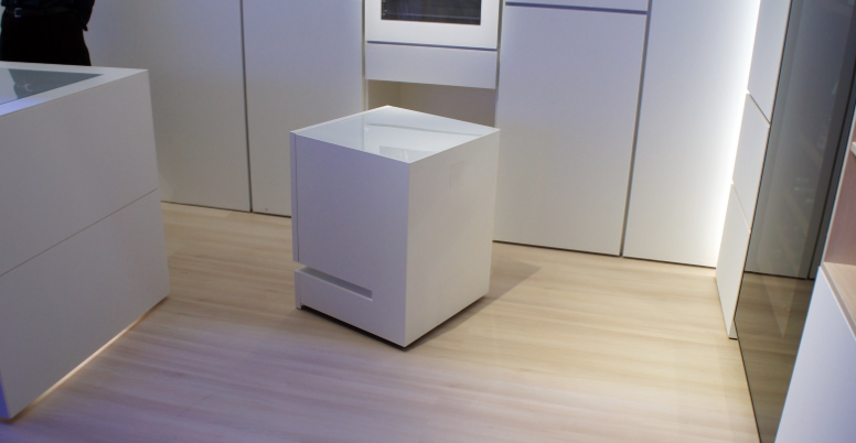 Voice-activated movable fridge