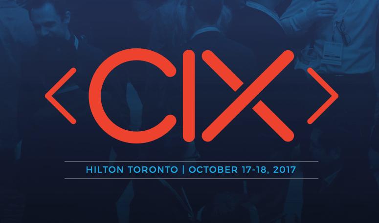 Canadian Innovation Exchange (CIX) 2017