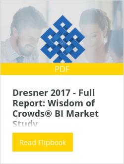 Dresner 2017 - Full Report: Wisdom of Crowds® BI Market Study