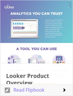Looker Product Overview