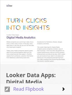 Looker Data Apps: Digital Media Analytics