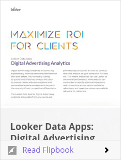 Looker Data Apps: Digital Advertising Analytics