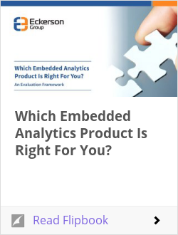 Which Embedded Analytics Product Is Right For You?