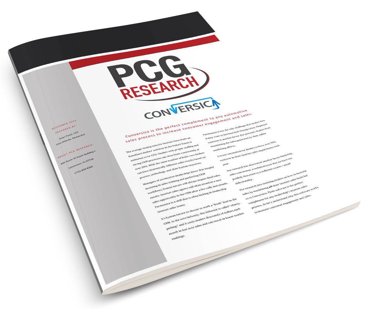 PCG/Brian Pasch Automotive Research Report