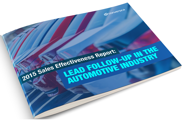 Conversica Automotive Sales Effectiveness Lead Follow-Up Summary Report