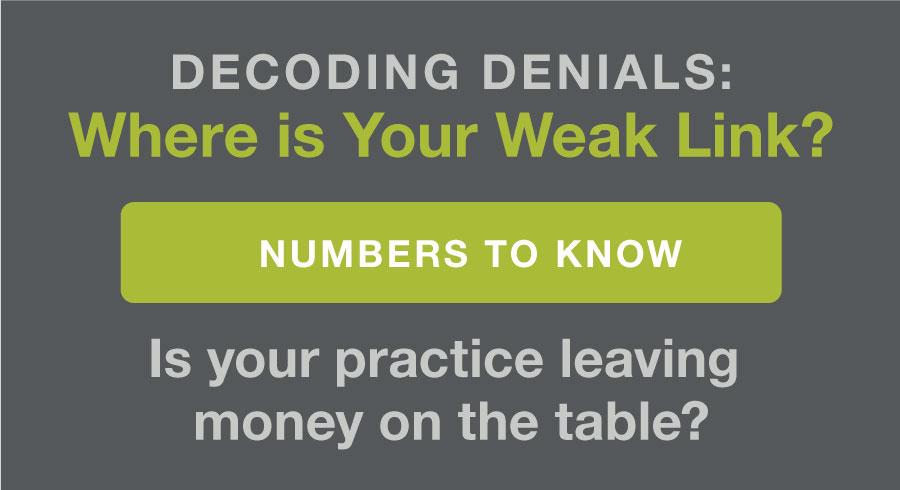 Decoding Denials: Where Is Your Weak Link?