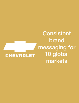 Chevrolet uses customer insights from NetBase to rev up global presence