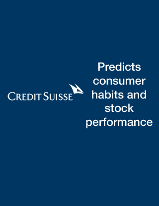 NetBase gives Credit Suisse predictive powers for its investment clients