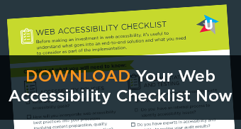 Web Accessibility Checklist