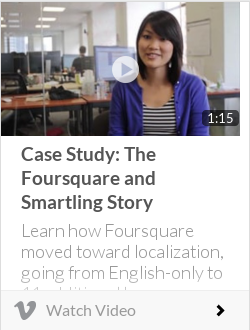 Case Study: The Foursquare and Smartling Story