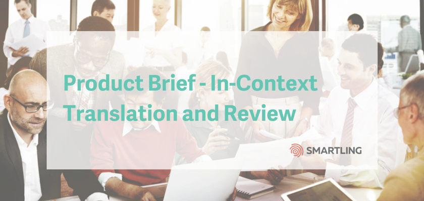 Product Brief - In-Context Translation and Review