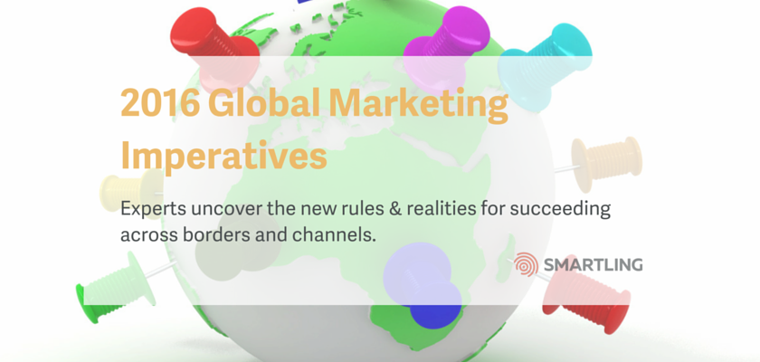 2016 Global Marketing Imperatives
