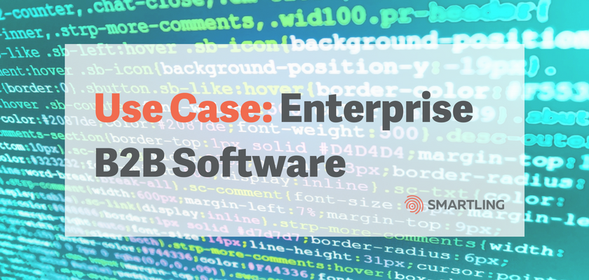 Enterprise B2B Software Use Case