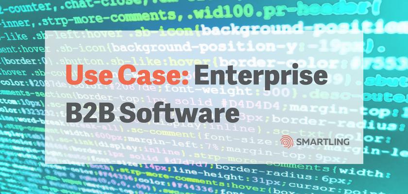 Enterprise B2B Software Use Case
