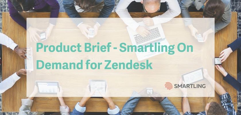 Product Brief - Zendesk On Demand