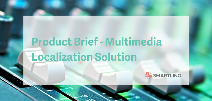 Product Brief - Multimedia Localization Solution