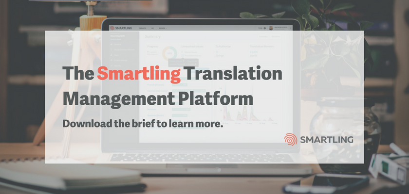 The Smartling Translation Management Platform