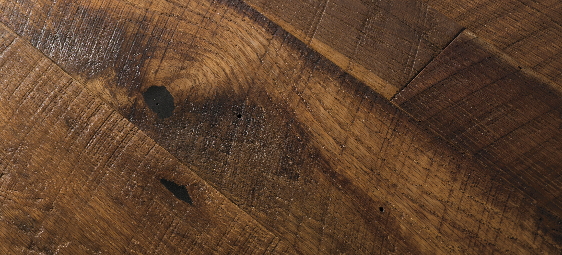 Reclaimed Oak Original Surface Wide Plank Flooring Texture