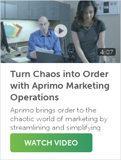 Turn Chaos into Order with Aprimo Marketing Operations