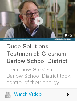 Dude Solutions Testimonial: Gresham-Barlow School District