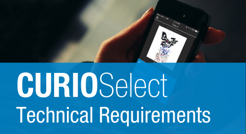 CURIOSelect iOS App: Technical Requirements