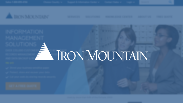 Iron Mountain Uses a Single Assessor for Agile Expansion