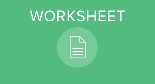 Organizational Planning Worksheet