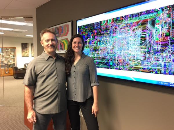 PCB Designer fam Nicole Pacino and her Dad Mike Creeden