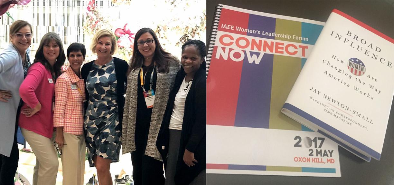 Jay-newton-small-book-GES-women-attending-Women's Leadership-Forum