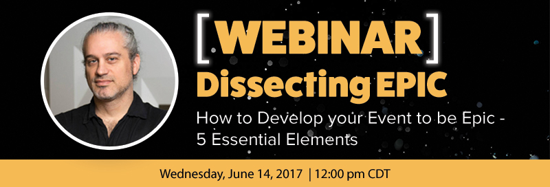 5 Essential Elements of an Epic Event Webinar