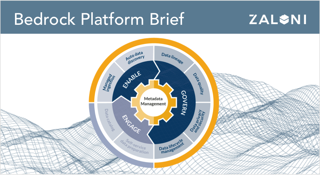 Bedrock Data Lake Management & Governance Platform Brief
