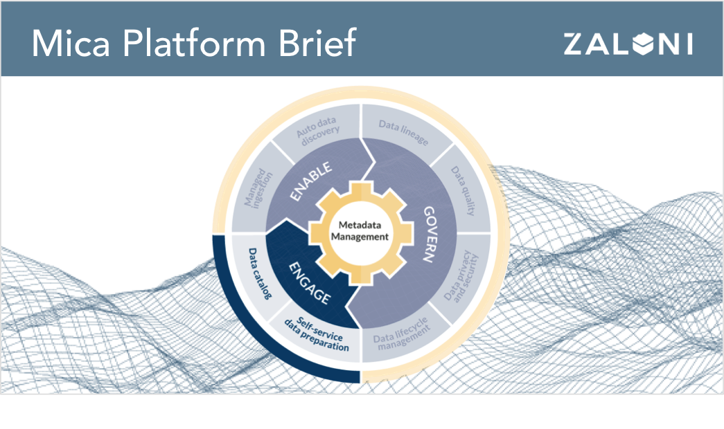 Mica Self-Service Data Platform Brief