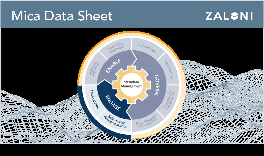 Mica Self-Service Data Platform Data Sheet