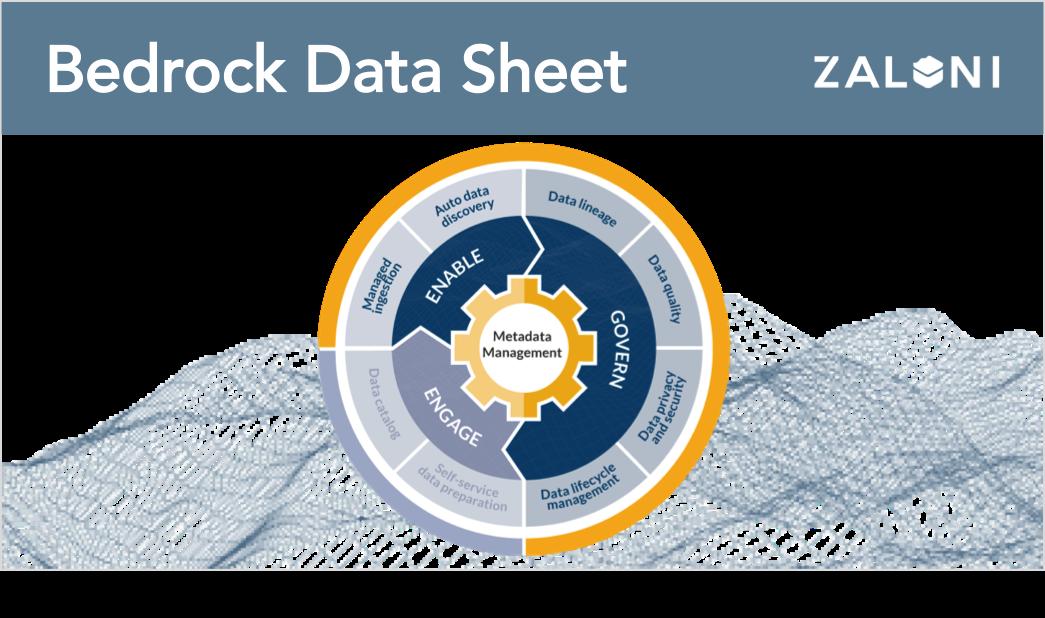 Bedrock Data Lake Management & Governance Platform Data Sheet