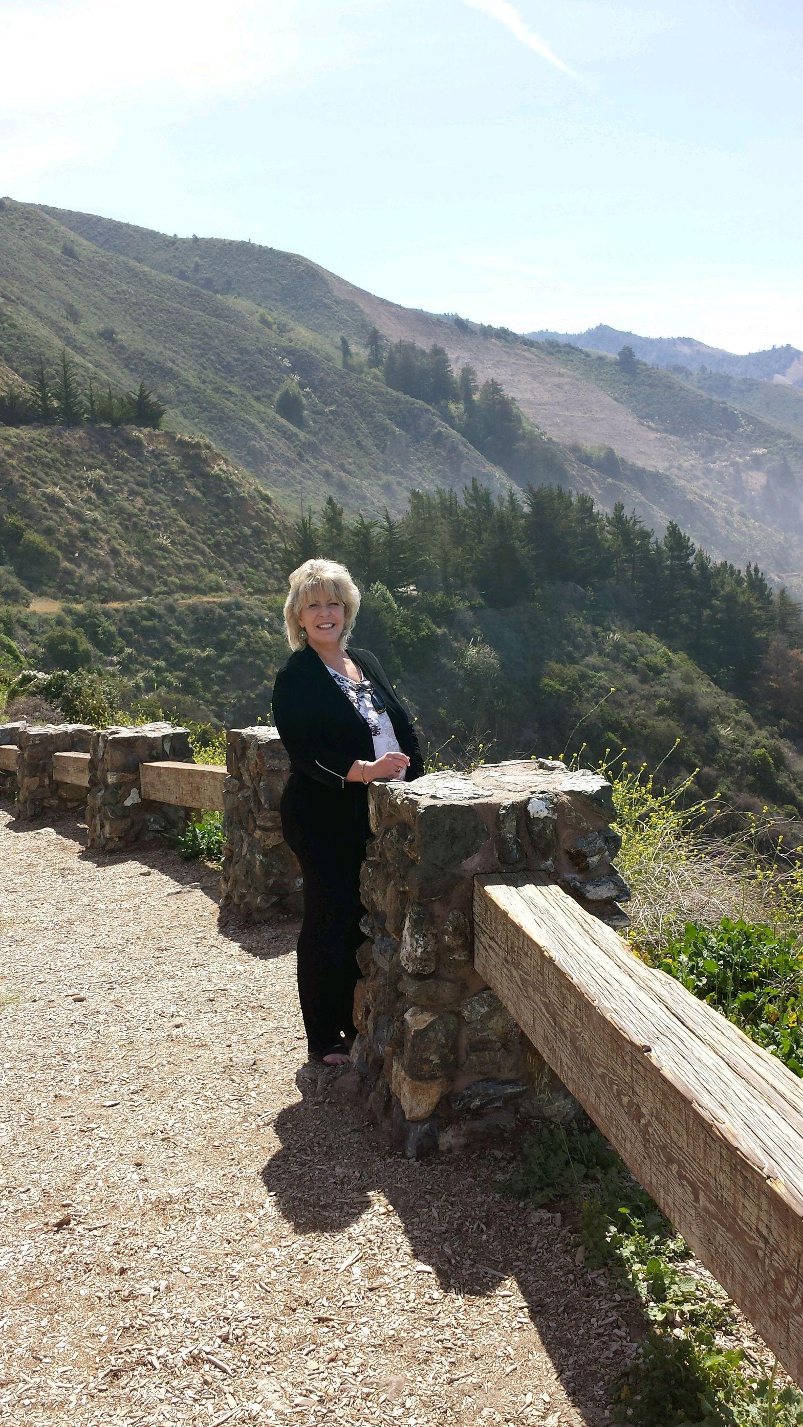 Marjorie in Monterey
