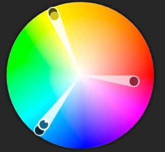 tertiary color wheel