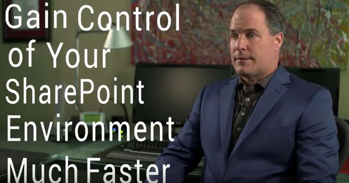 Gain SharePoint Control with DocAuto's SPorganizer
