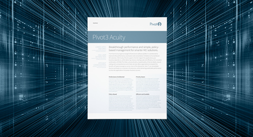 [Data sheet] Pivot3 Acuity Datasheet