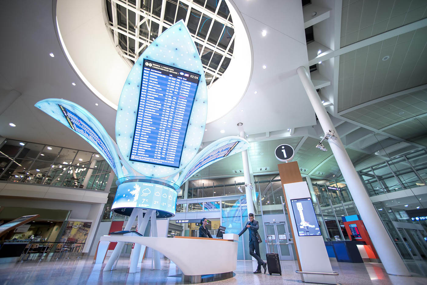 Case Study: Toronto Pearson Airport Blends Artistry Into the Travel Experience