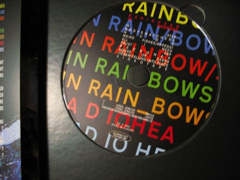 Radiohead In Rainbows Album Art