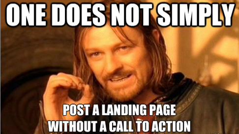 Call to Action Meme