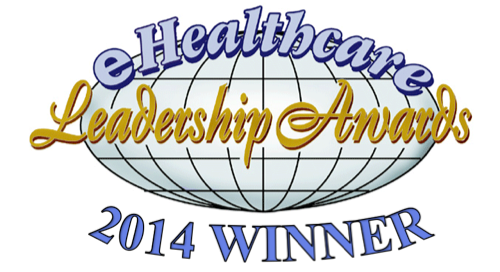 eHealthcare Leadership Awards 2014 Winner Logo