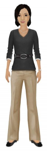 CSHP's avatar, Jill, will help patients explore the patient portal.