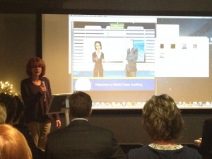 Stephanie Dispotto spoke for CodeBaby at Innovate Colorado Springs