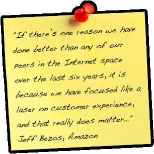 Quote from Jeff Bezos of Amazon