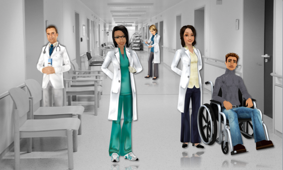 CodeBaby Virtual Health Assistants at the Hospital
