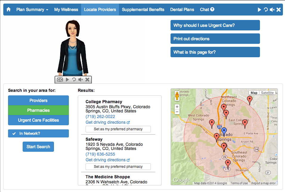 Insyte Dashboard Geolocation Provider Search