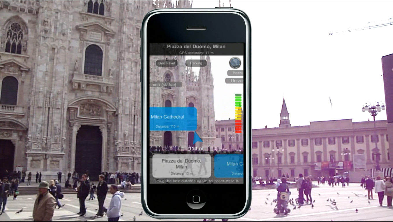 Augmented Reality Geo Travel