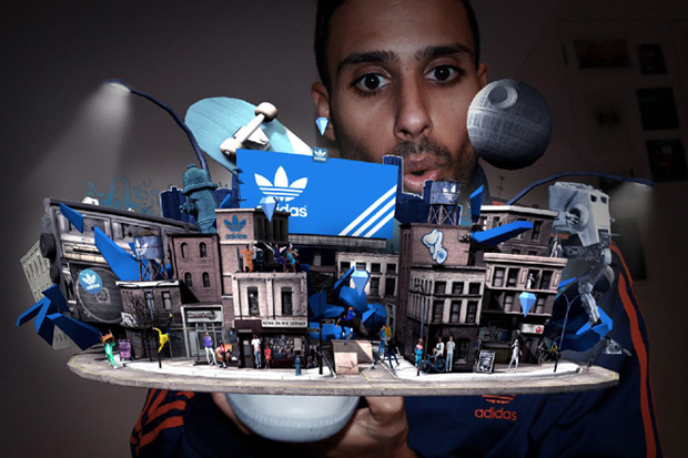 Retail Augmented Reality for Adidas