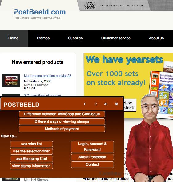 Postbeeld Webshop